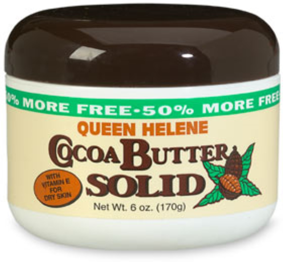 QUEEN HELENE Cocoa Butter Solid 6 oz (Pack of 4)