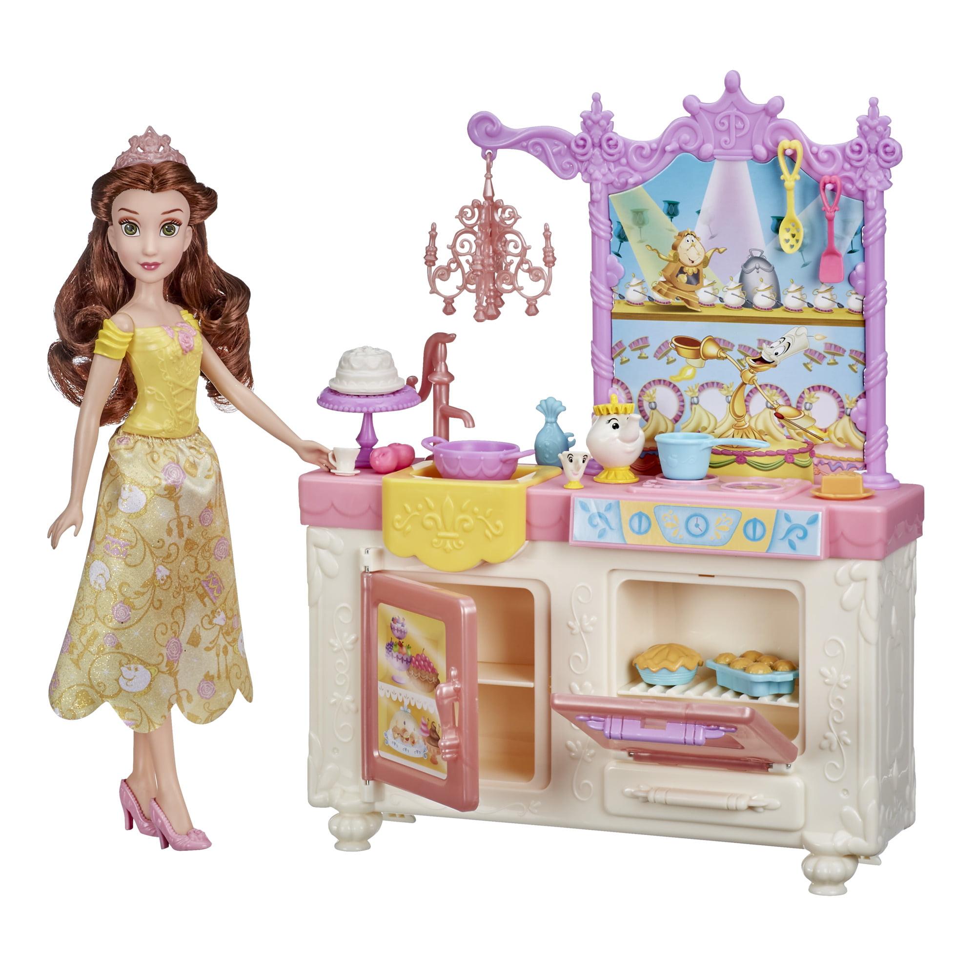 DISNEY PRINCESS 6 x 3D PUZZLE ERASER PLAY SET BELLE ARIEL CINDERELLA GIRL GIFT