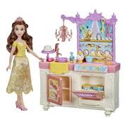 Disney Princess Belle's Royal Kitchen Playset, Includes 13 Accessories