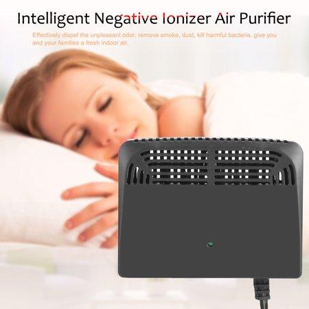 Greensen Black Intelligent Negative Ion Anion Generator Room Car Ionizer Air Purifier, Air Purifier, Air Ionizer - image 8 of 9