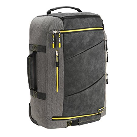 Cabin Max - Cabin Max Manhattan 55x40x20 Hybrid Trolley Backpack Flight  Approved hand lug... - Walmart.com e1fc9a9331dfa
