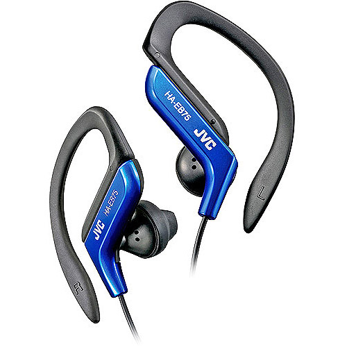 JVC Ear-Clip Headphone for Light Sports, Blue