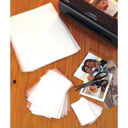 Laminating Sheets  100 Piece Triple Pack With 30 Letter Sheets  9 X 11 1 2 40 Photo Sheets  4 1 4 X 6 1 8  30 Name Card Sheets  2 3 8 X 3 3 4 By Ltd Commodities