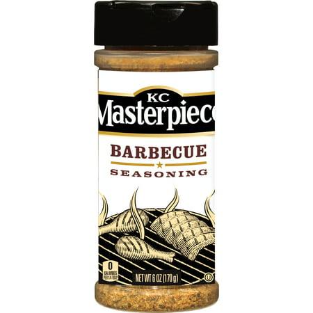 ((2 Pack) KC Masterpiece Barbecue Seasoning, 6 oz)