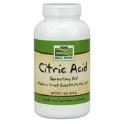 NOW Foods Citric Acid, 1 Lb