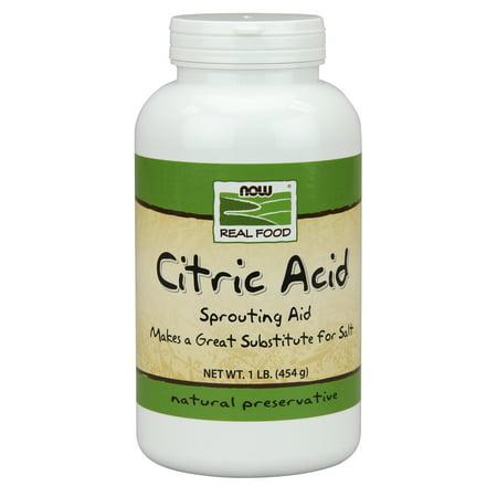 NOW Foods Citric Acid, 1 Lb - Walmart.com