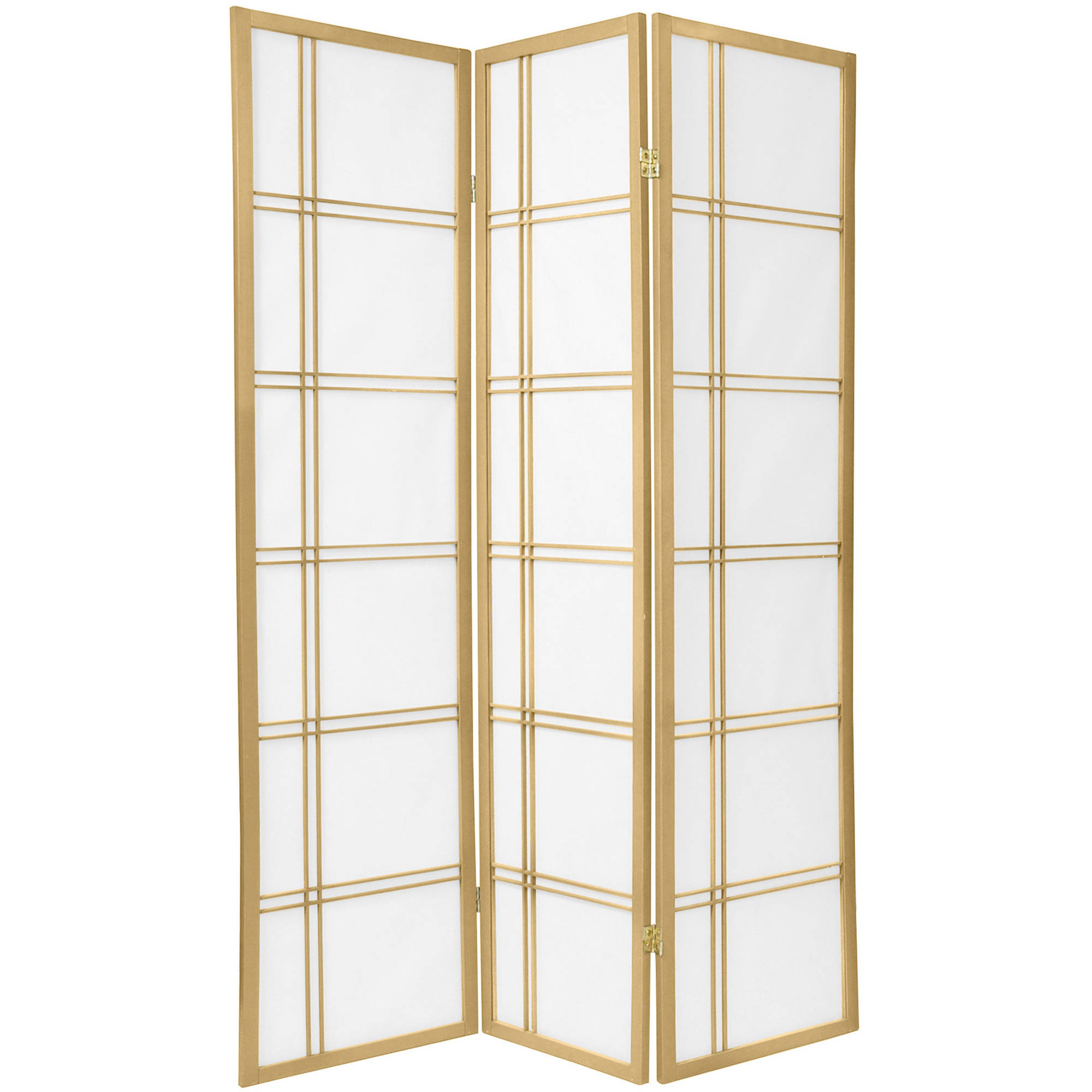 6' Tall Double Cross Shoji Screen Special Edition