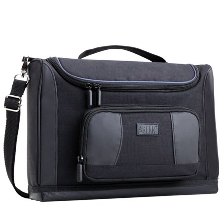 USA GEAR Professional Electronics Travel Bag with Weather Resistant Exterior and Durable Construction
