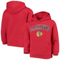 Youth Red Chicago Blackhawks Pullover Hoodie