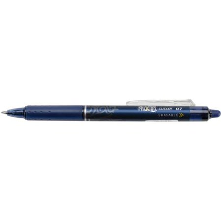 Pilot Frixion Clicker Erasable Fine Point Pen-Navy