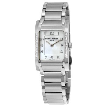 Baume and Mercier Pearl Diamond Ladies Watch