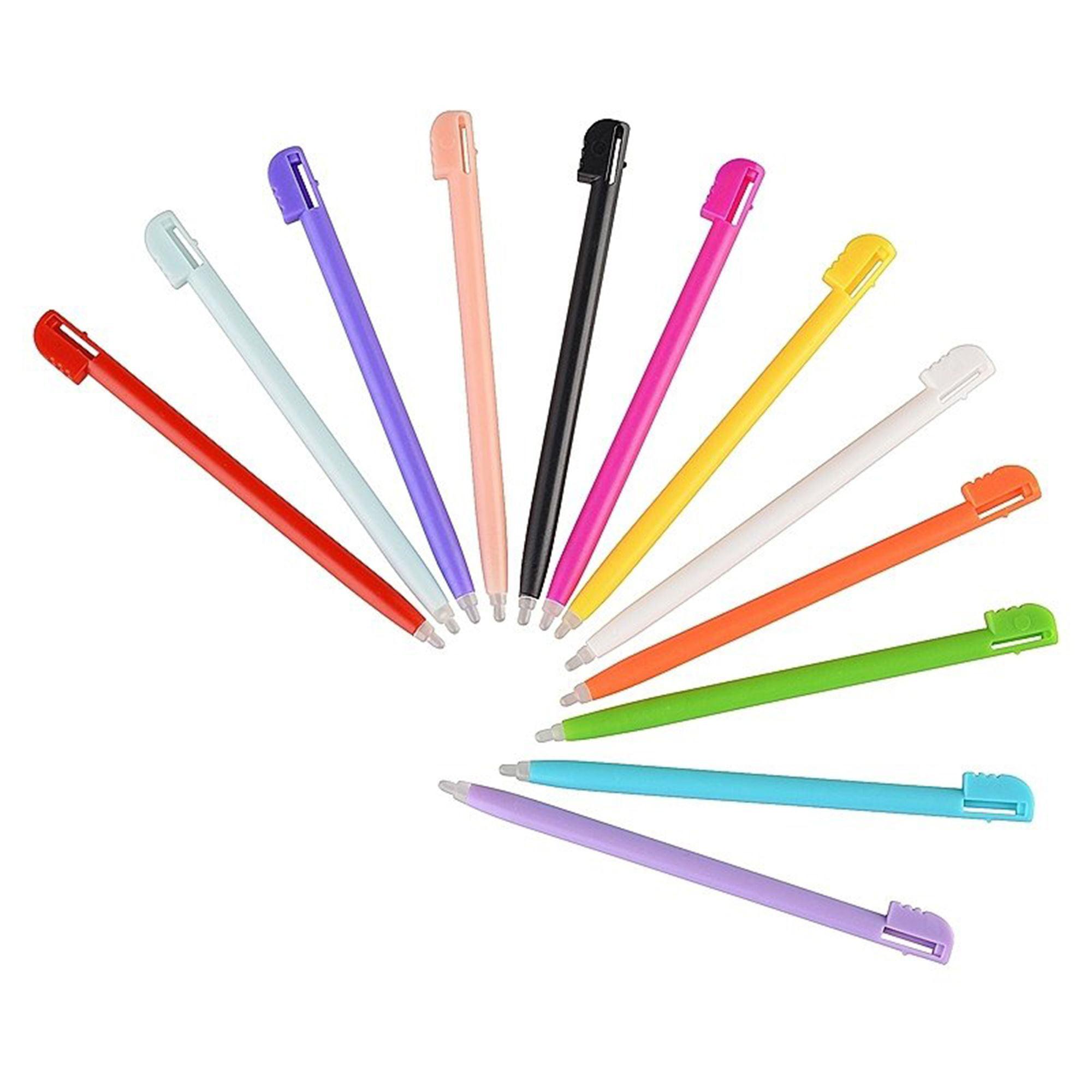 Insten 12 pcs Bundle Plastic Stylus Pen For Nintendo DS Lite NDSL (12pcs Bundle Set)