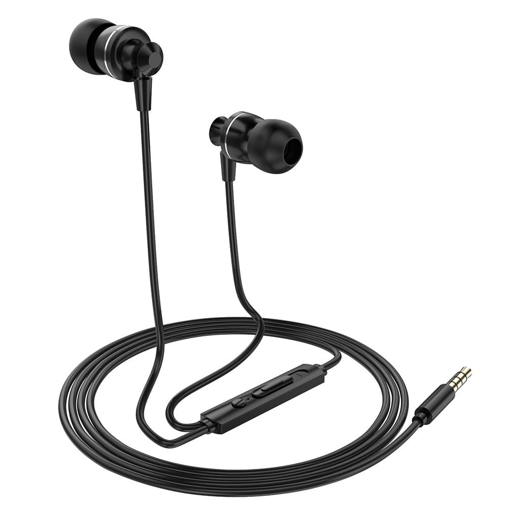 Ptm D11 Wired In Ear Earphones Stereo Gaming Headset Metal