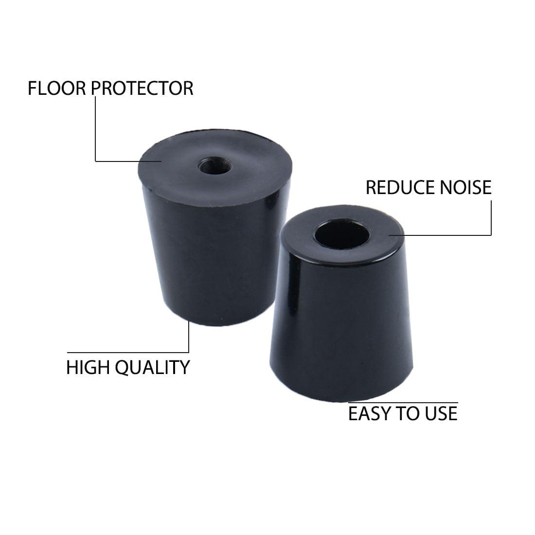 14pcs Rubber Feet Bumper Furniture Table Leg Pads Floor Protector, D35x27x25mm - image 6 of 7