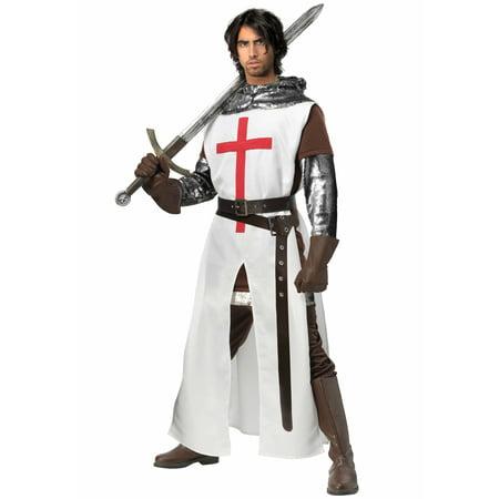 Men's Crusader Plus Size Costume - image 1 of 2
