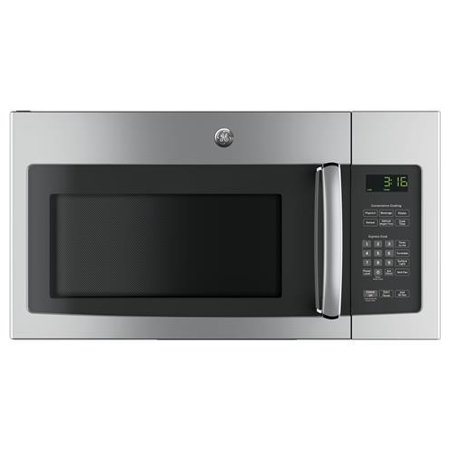 JNM3163RJSS 30 Over-the-Range Microwave with 1.6 cu. ft. Capacity 2-Speed 300 CFM Vent 10 Power Levels Convenience Cooking Controls and Cooktop Lighting in Stainless (Over The Range Microwave With Vent Fan)