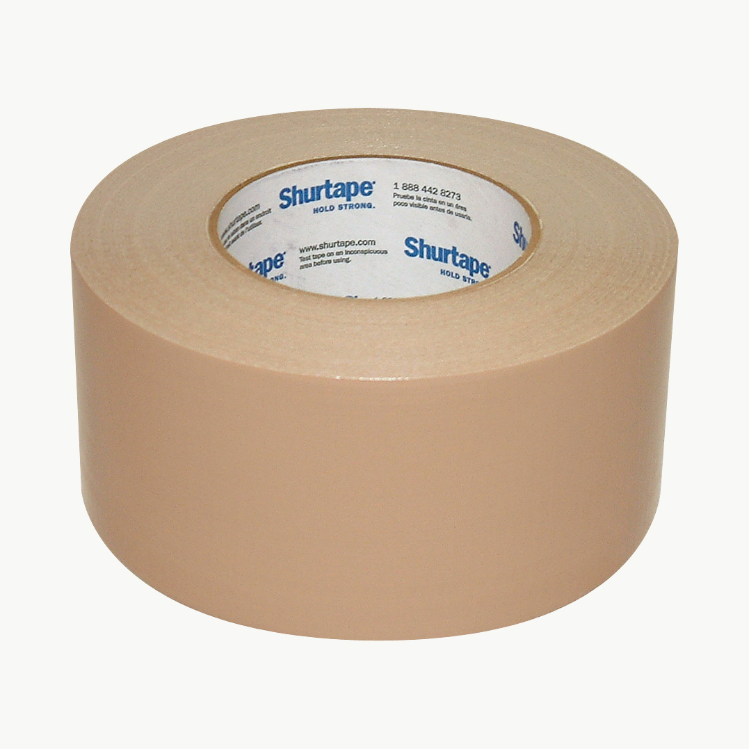 White 3 in Shurtape PC-600 General Purpose Grade Duct Tape x 60 yds.