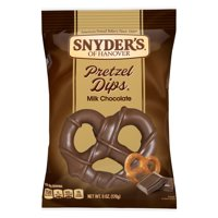 Snyder's of Hanover Hershey's Milk Chocolate Covered Pretzel Dips, 6 Oz