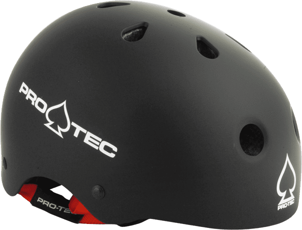Protec Jr.Classic X-SMALL Matte Black Helmet CPSC by Universo Extremo Boards