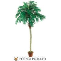 Set of 2 Artificial Phoenix Palm Trees 8'