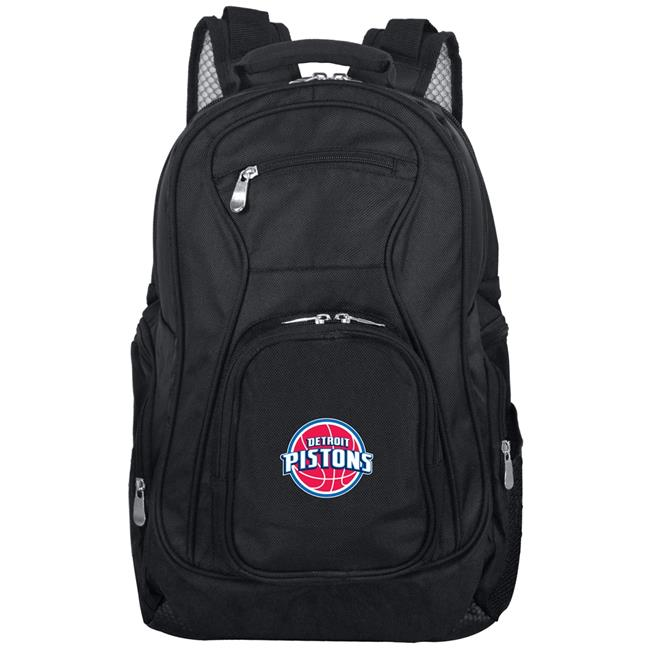 19 in. Mojo Detroit Pistons Premium Laptop Backpack, Black - image 1 of 1