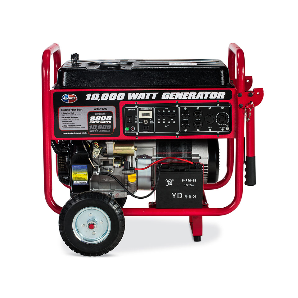 All Power America 10,000 Watt Gas Generator