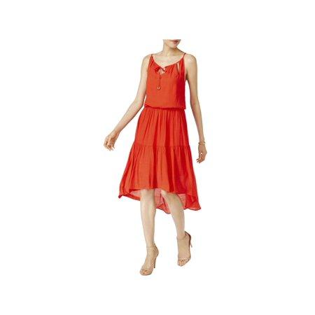 Sangria Womens Blouson Keyhole Front Casual Dress