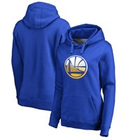 Golden State Warriors Fanatics Branded Women's Plus Sizes Gradient Logo Pullover Hoodie - Royal