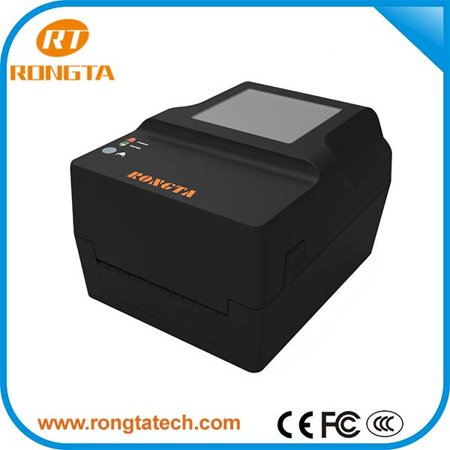 Rongta RP 400 USB Serial Interface Desktop Thermal Transfer barcode printer  / label printer 203dpi - GREY