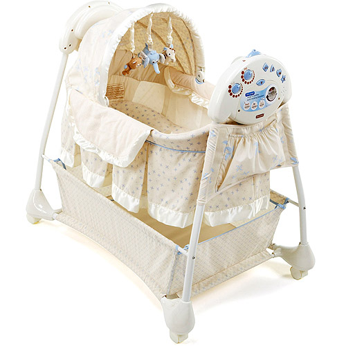 The First Years - Sway 'n Soothe Auto Rocking Bassinet