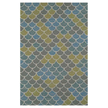 Dalyn Cabana Area Rugs Cn13 Contemporary Multi Scales Curves Multi