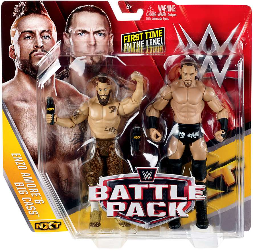 WWE Figure 2-Pack, Enzo & Big Cass by Mattel