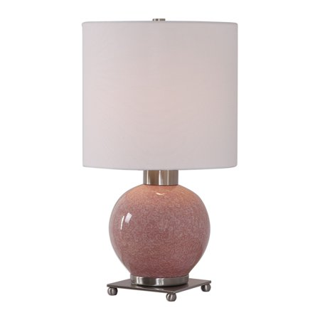 Ceramic Buffet Lamp - Uttermost Rhoda Billy Moon Ceramic And Iron And Linen Buffet Lamp 29667-1