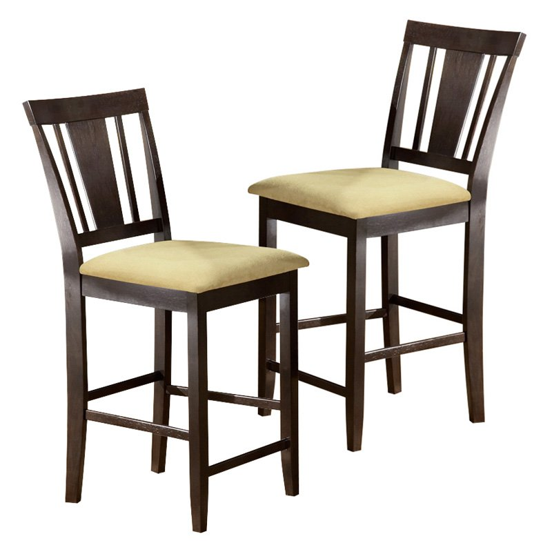 Hillsdale Arcadia Beige Counter Chair - Set of 2