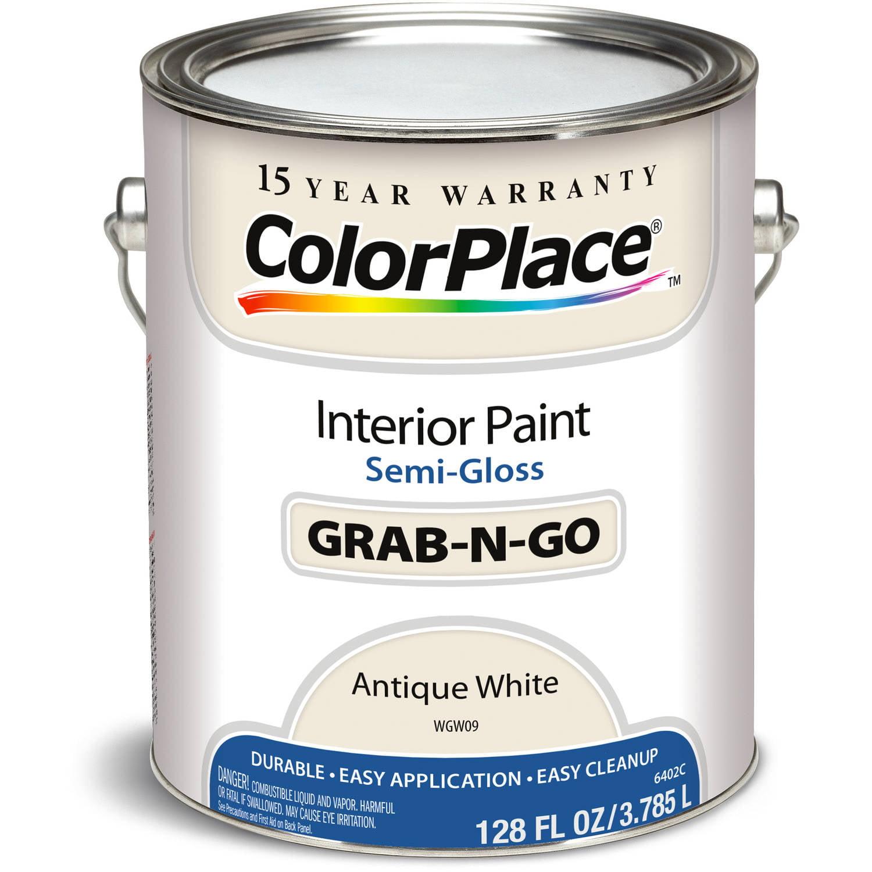 Colorplace Antique White Semi Gloss Interior Paint, 1-Gallon