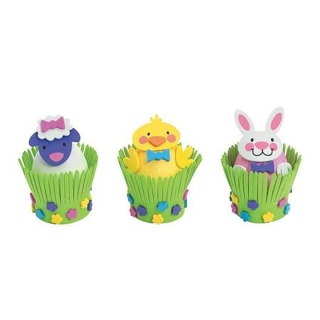 Easter Egg Decorations Craft Kit - 12 Kits ()