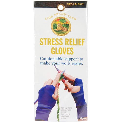 Stress Relief Gloves For Knitters, Medium