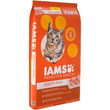 Iams  Proactive Health  Healthy Adult Original  With Chicken Cat Food 22 Lbs  Bag