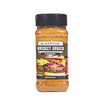 Blackstone Whiskey Burger Seasoning, 9.6 oz  Bold, Smokey Flavor