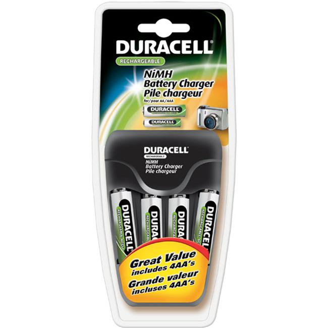 Duracell Entry-Level NiMH Battery Charger Kit CEF-14NC