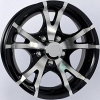 "Aluminum Trailer Wheel Rim 15x6 5 Hole 4.5"" Center 15"" x 6"" T07"
