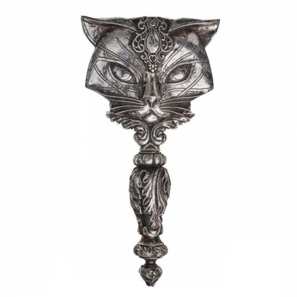 Women S Victorian Sacred Cat Handheld Hand Small Mirror Makeup Vanity Decor Walmart Com Walmart Com