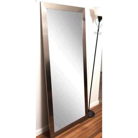 Brandt Works LLC Modern Silver Floor Mirror - Walmart.com