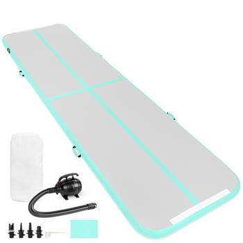 Best Choice 20ft Portable Inflatable Gymnastics Tumbling Air Floor Mat