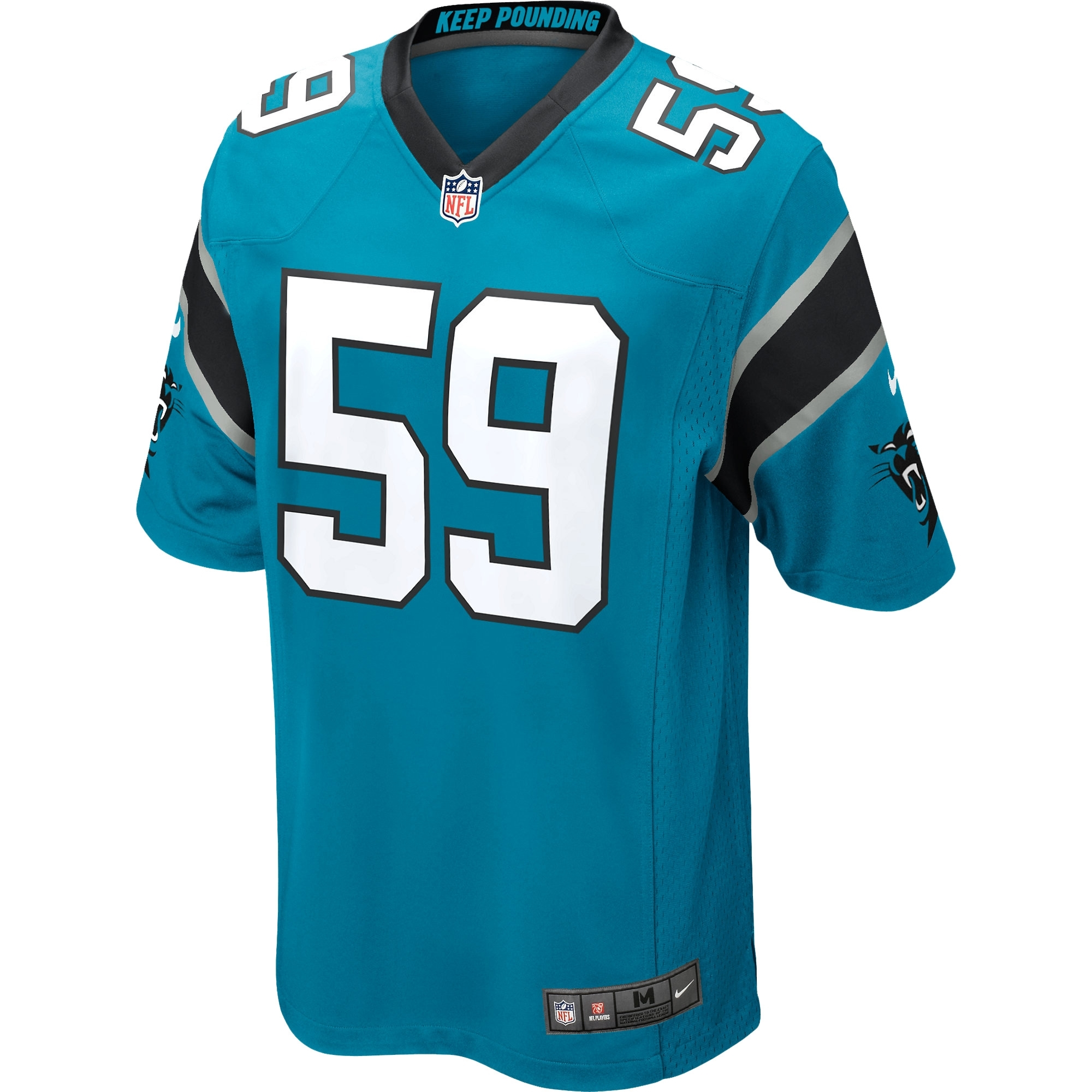 new products 4df7f c83dd Luke Kuechly Carolina Panthers Nike Youth Alternate Game Jersey - Panther  Blue - Yth L