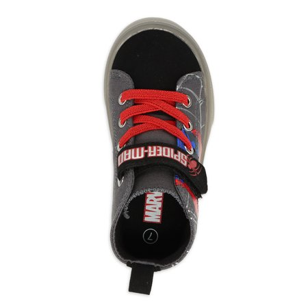 Spiderman Light Up High Top Sneakers (Toddler Boys)