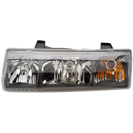 2002 2004 Saturn Vue Driver Left Side Headlight Lamp Embly