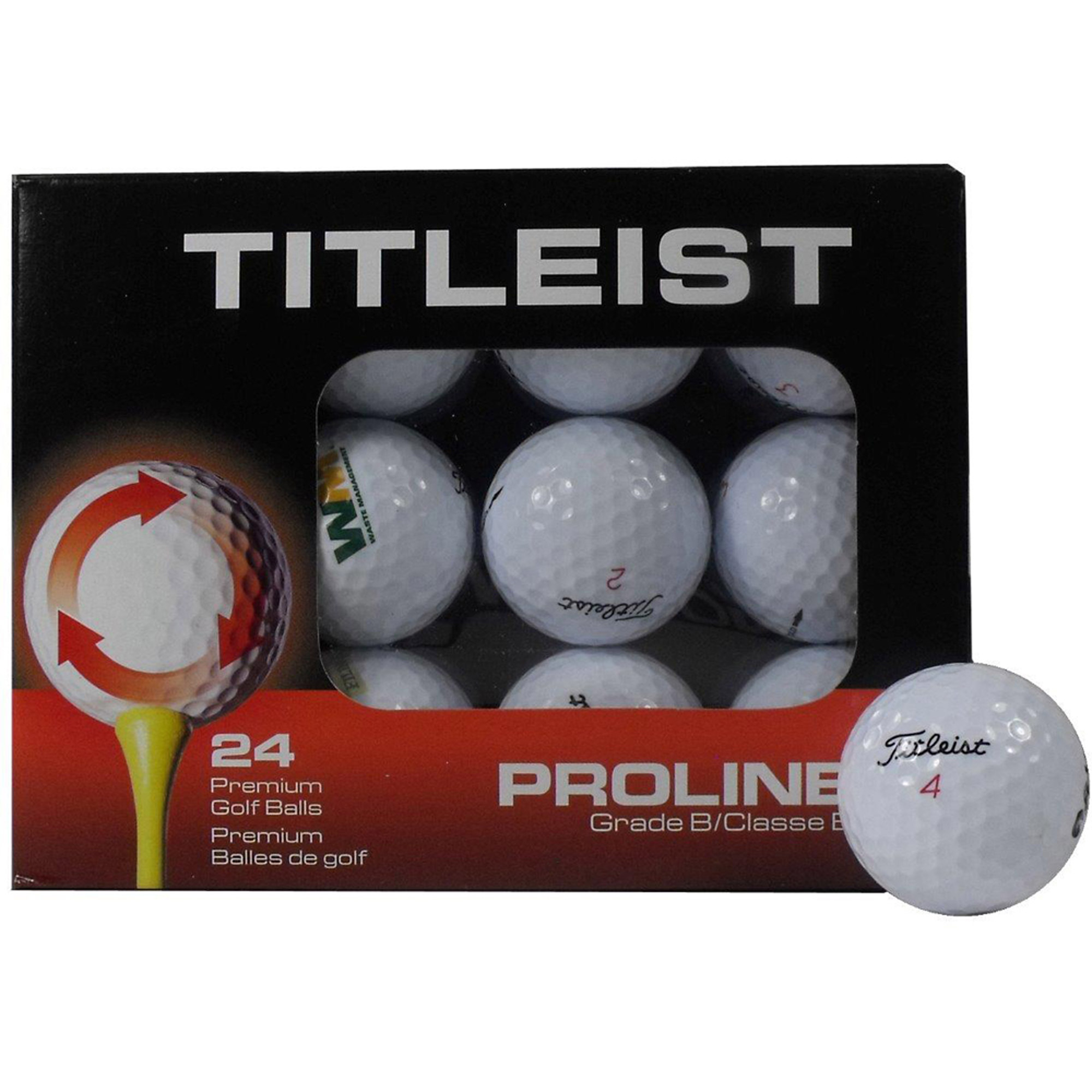 Value Mix Recycled & Used Golf Balls