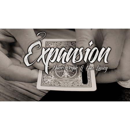 Expansion Blue (DVD and Gimmicks) by Daniel Bryan and Dave Loosley - Trick Dvd Amazing Magic Tricks