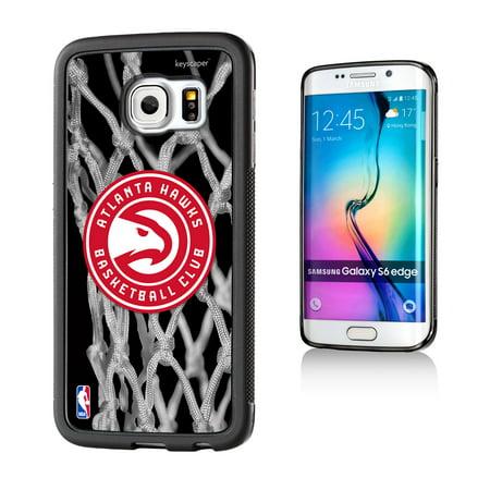 Atlanta Hawks Net Design Samsung Galaxy S6 edge Bumper Case by Keyscaper